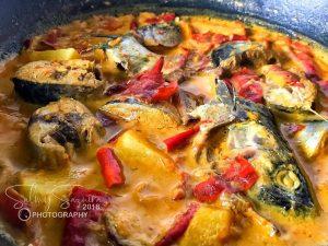 resepi kari ikan air fryer