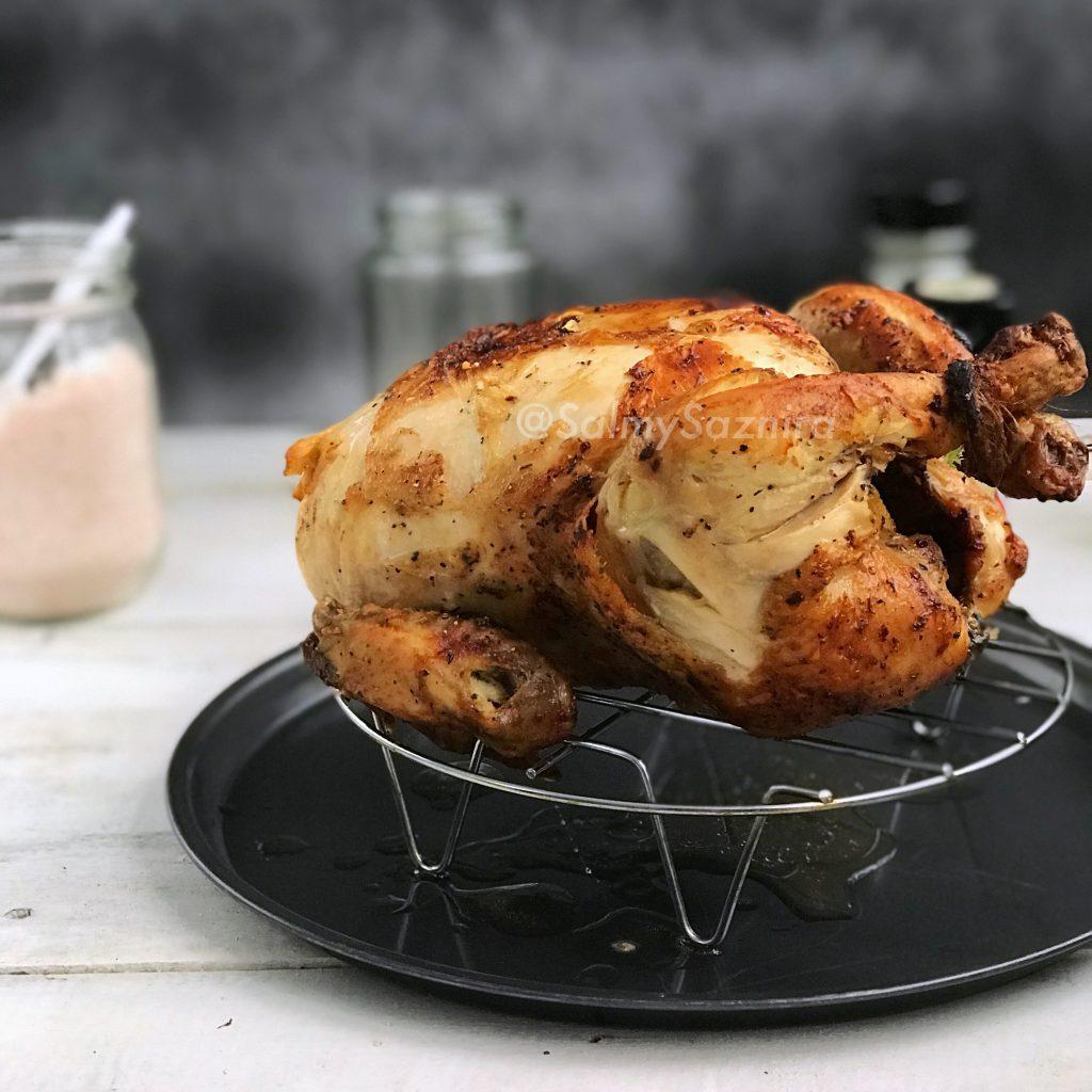 Tips Bakar Ayam Seekor Dalam Air Fryer Resepi Air Fryer