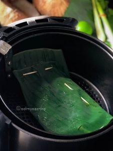 masukkan ke dalam bakul air fryer